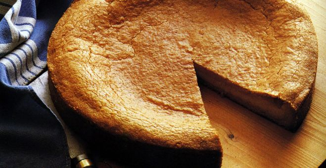 Basque Custard Torte