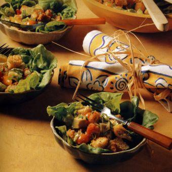 Avocado and Tomatillo Salad