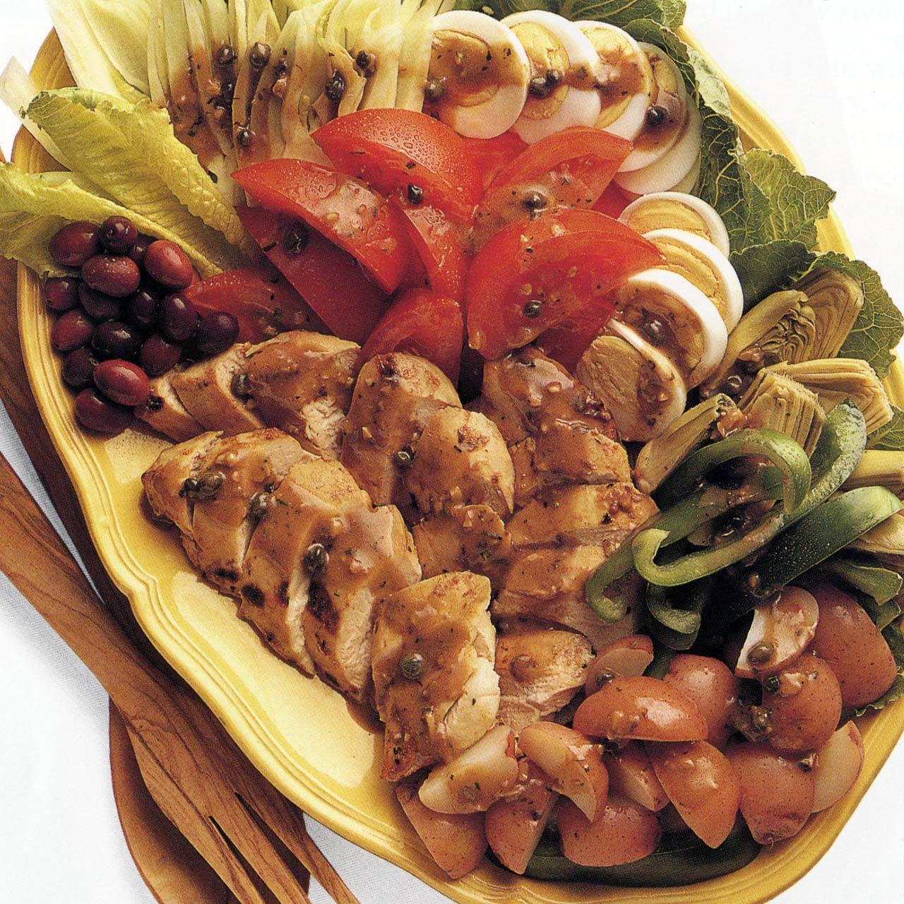 Chicken Salad Nicoise