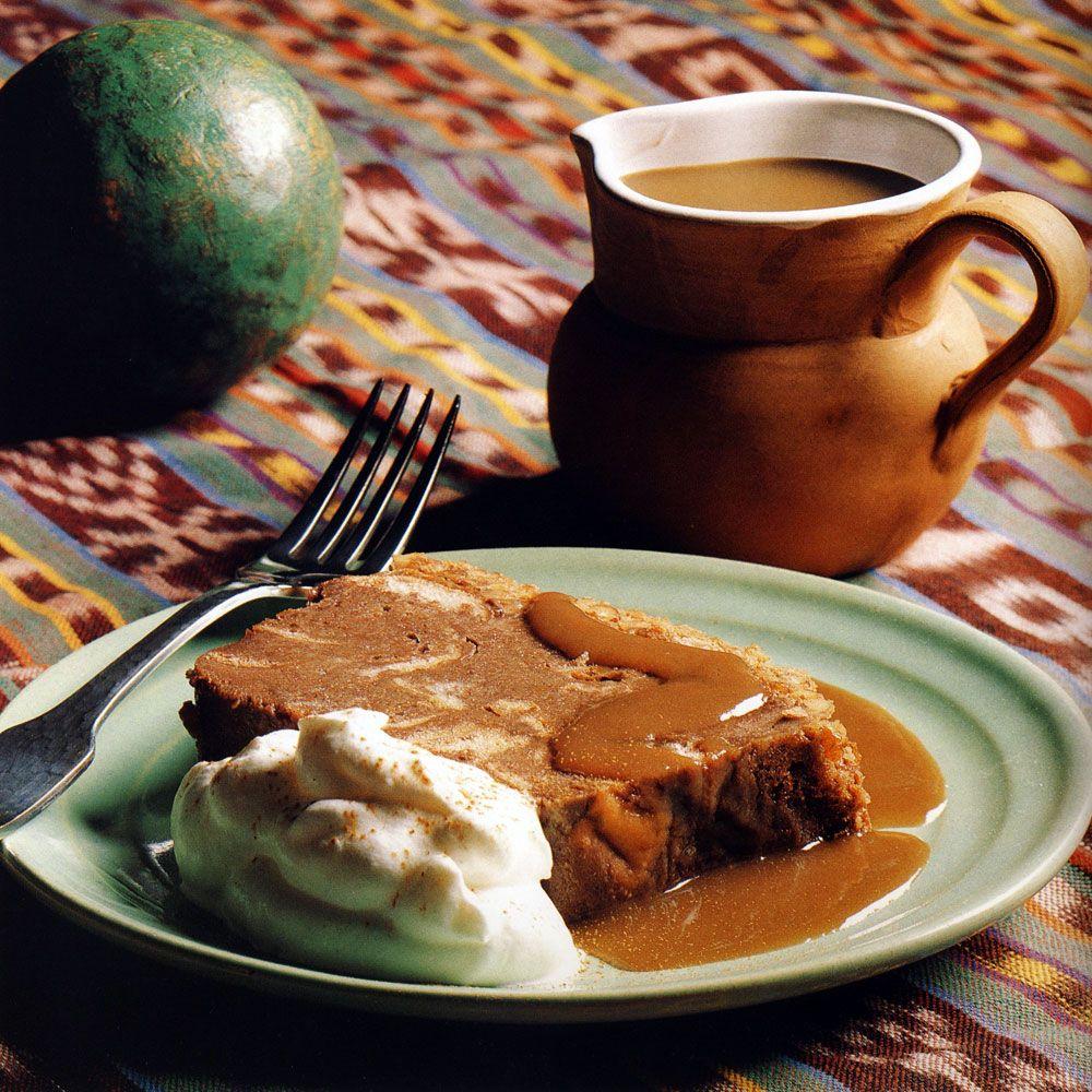 Kahlua Chocolate Bread Pudding