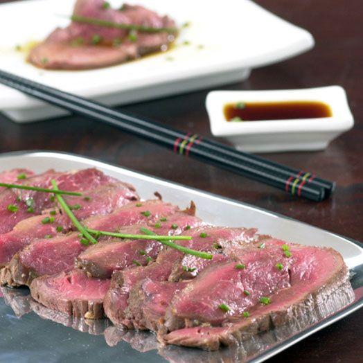 Beef Tataki with Ponzu Sauce