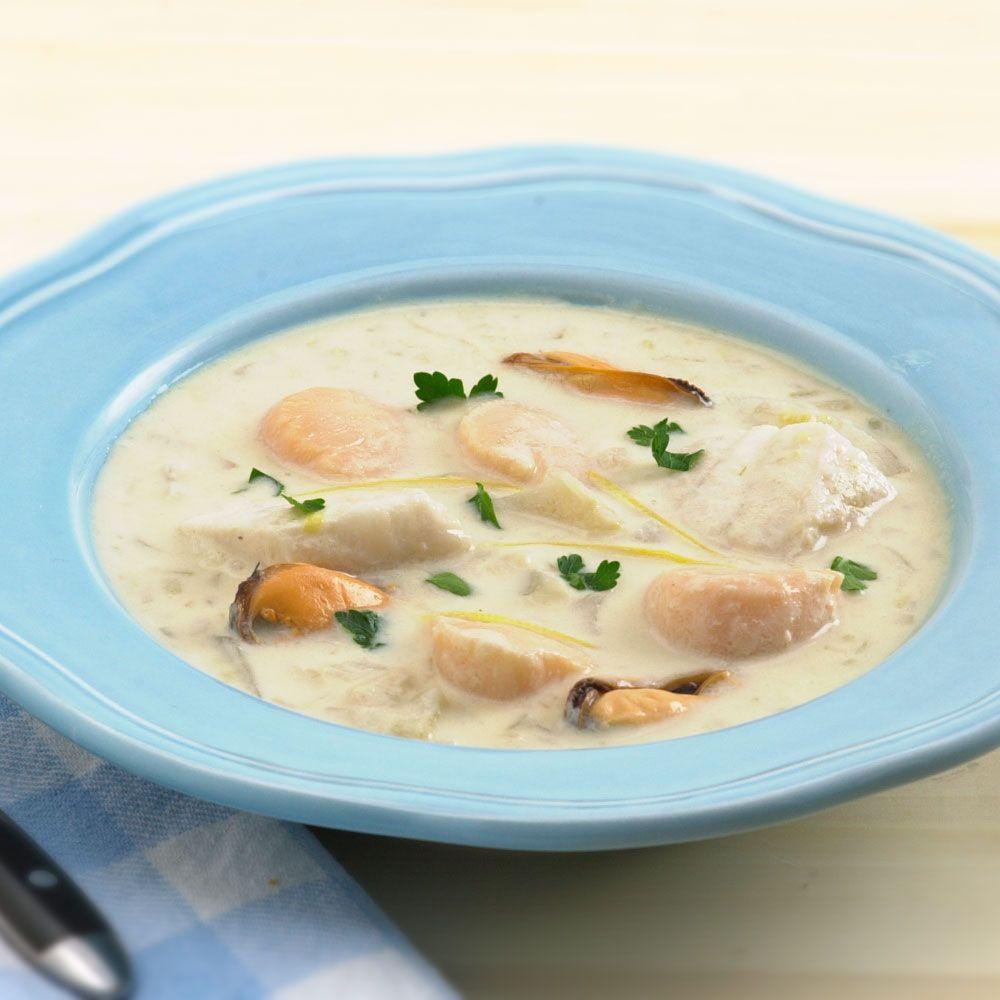 Normandy Seafood Stew Recipe : Cooking.com Recipes