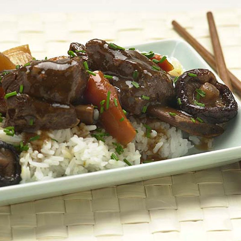 Korean Beef Short Rib Stew