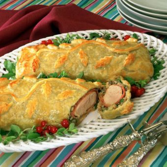 Pastry-Wrapped Turkey Tenderloins