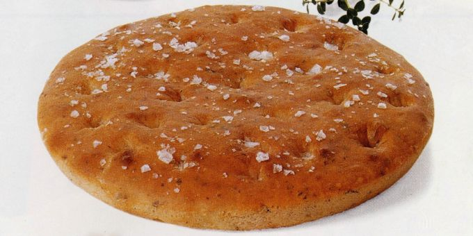 Herb-Flavored Focaccia