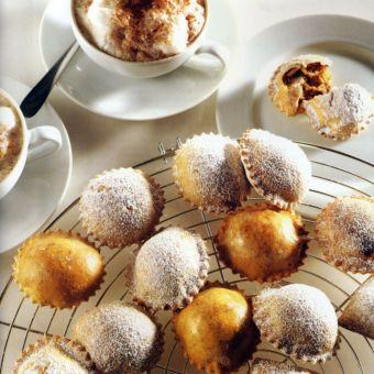 Date and Ricotta Ravioli Dessert