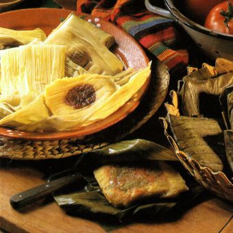 Green Chile Tamales