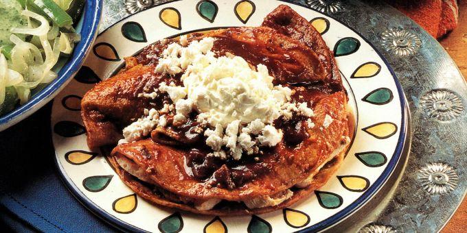 Tapatia-Style Enchiladas