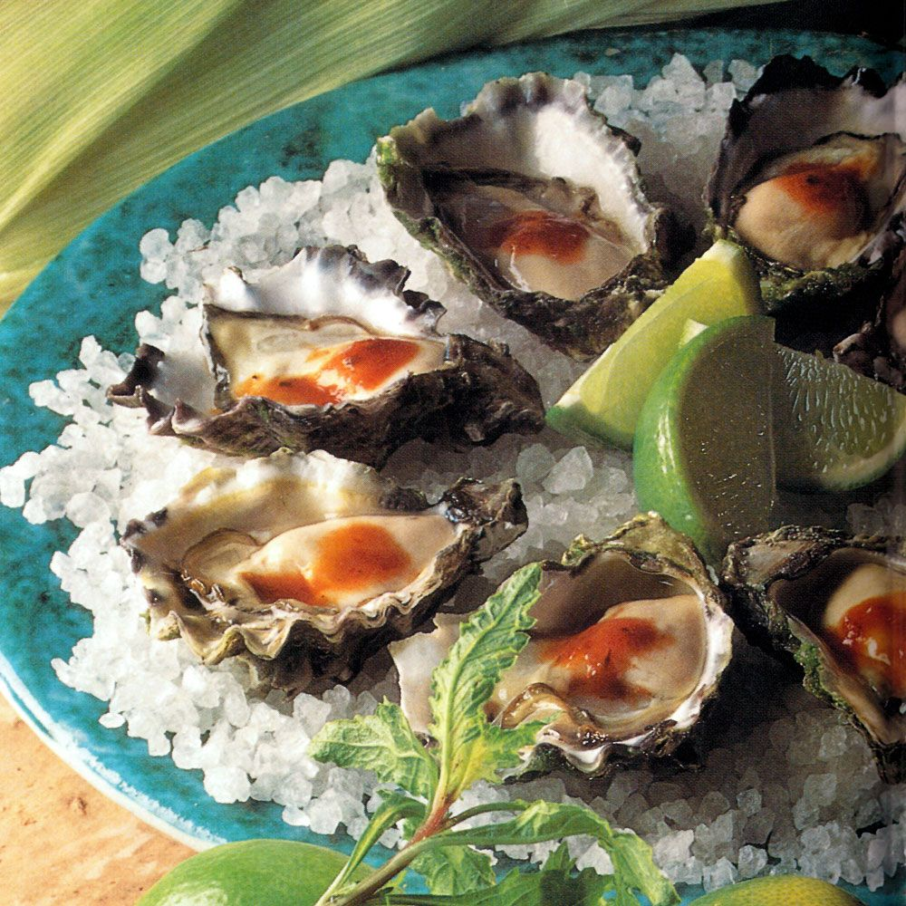 Mexican-Style Oysters
