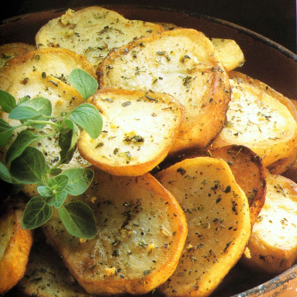 Potatoes with Oregano
