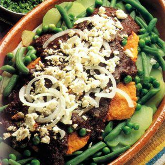 Adobo Chile Vegetarian Casserole