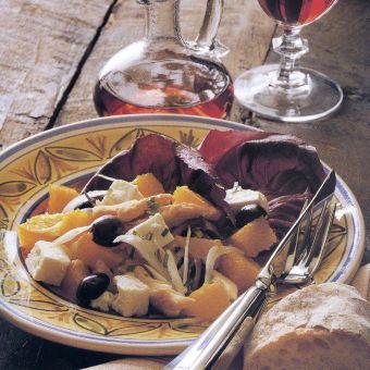 Sicilian Smoked Fish and Orange Salad