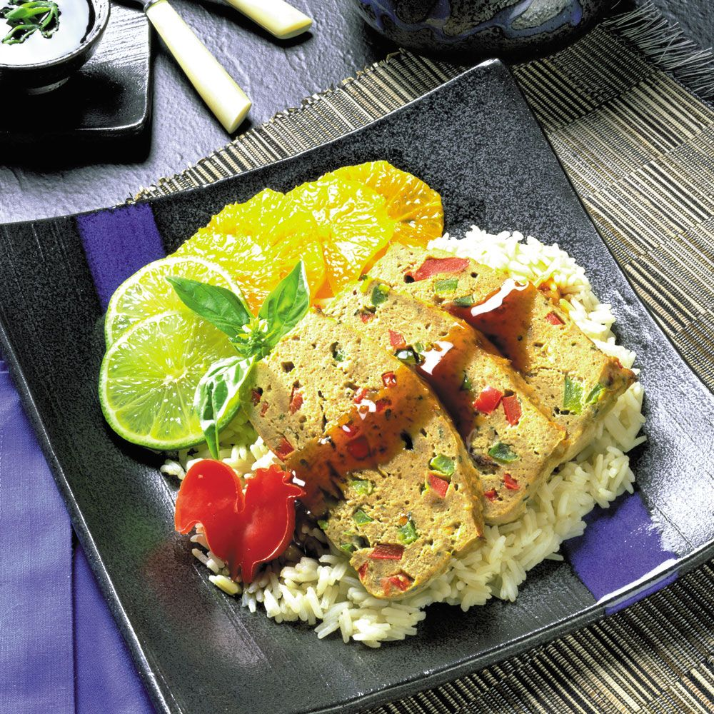 Southeast Asian Chicken Loaf