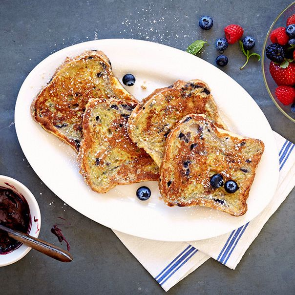 Baked Deep-Dish Strawberry French Toast
