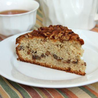 Pecan and Sour Cream Cake