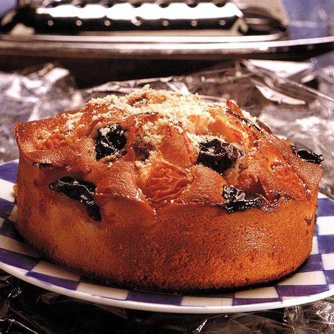 Fresh Fruit Almond Cake