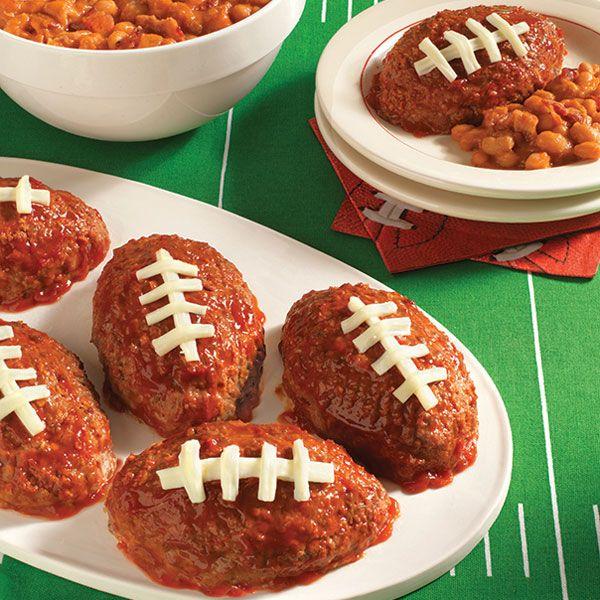 Touchdown Mini Meatloaf Recipe : Target Recipes