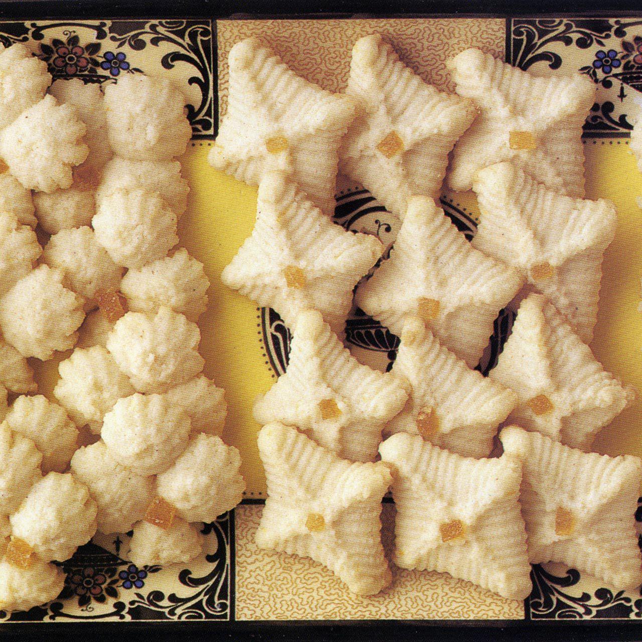 Lemon-Ginger Tea Cookies