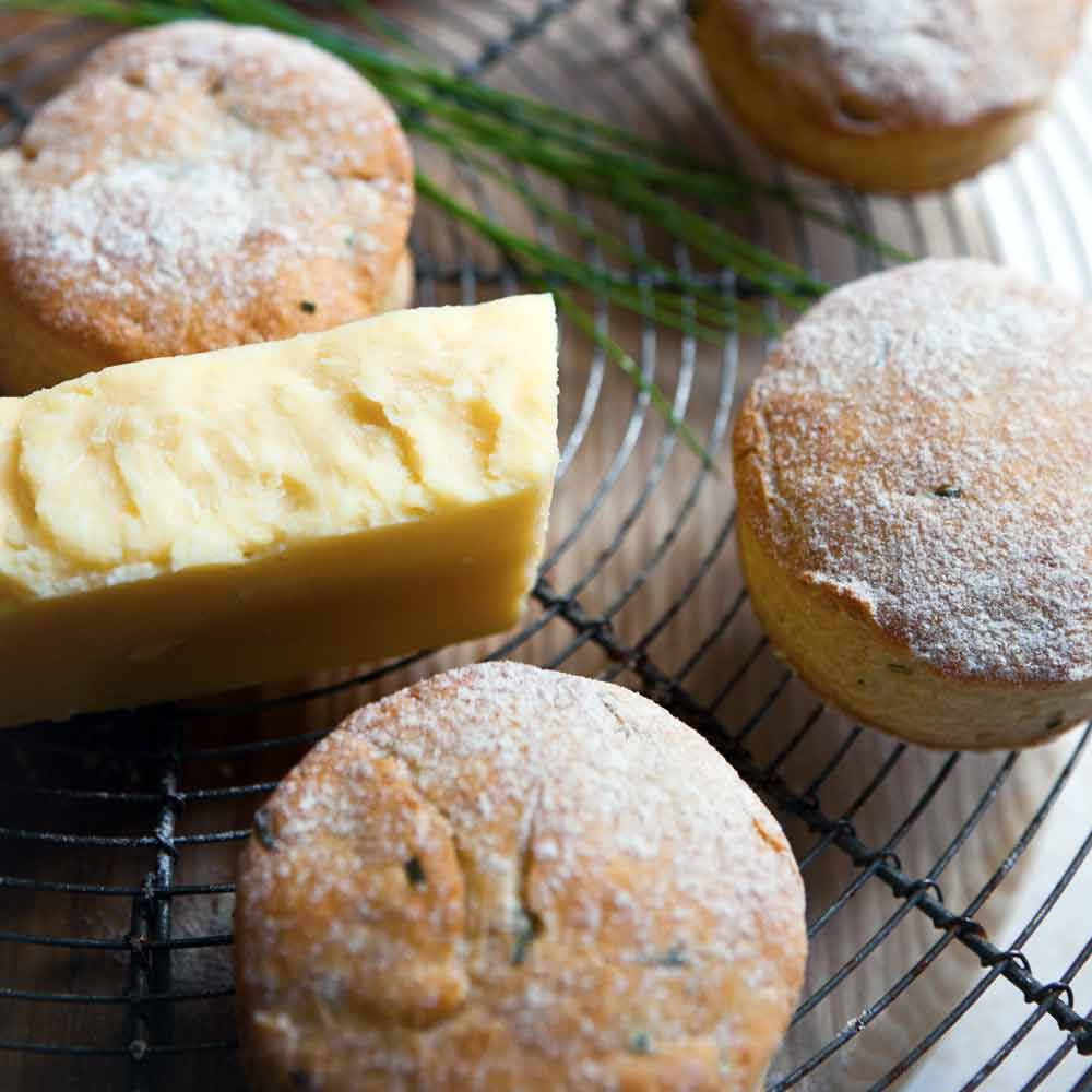Cheese and Chive Scones
