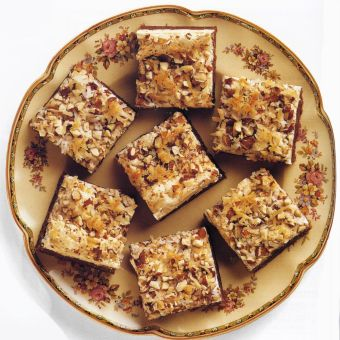 Chocolate-Coconut Meringue Bars