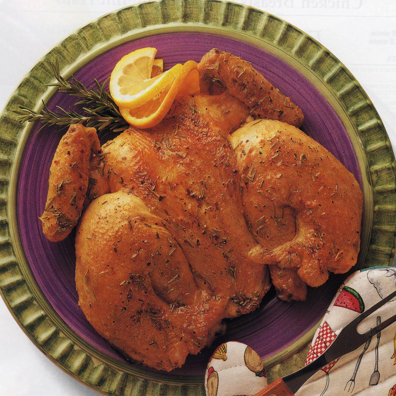 Butterflied Citrus Chicken