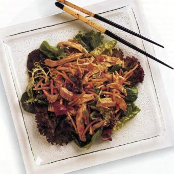Taipei Chicken with Mixed Greens
