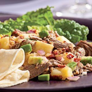 Beef and Potato Salad with Smoky Chipotle