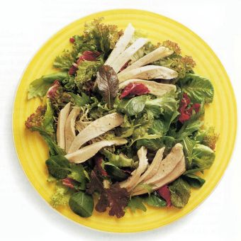 Basic Microwaved Chicken