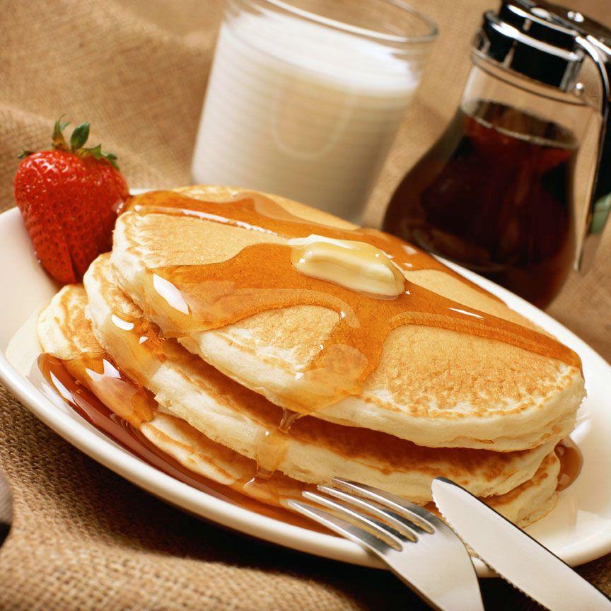 Featherlight Buttermilk Pancakes