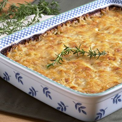 Potato Gratin with Gruyere and Herbes de Provence