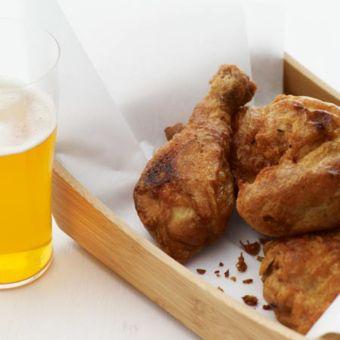 Beer-Battered Buttermilk Fried Chicken