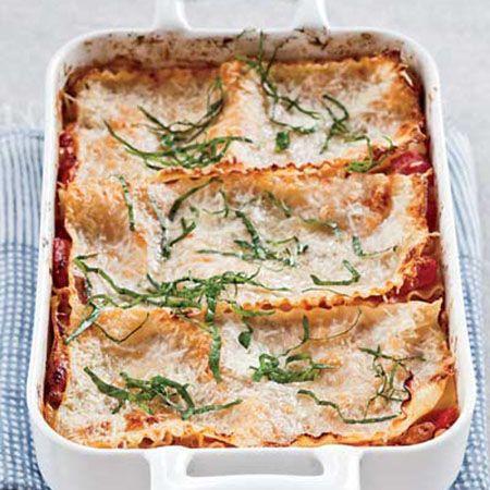 Free-Form Sausage-and-Three-Cheese Lasagna