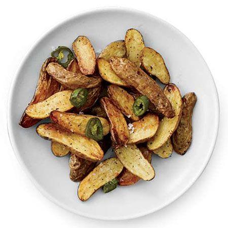 Jalapeño-Roasted Potatoes