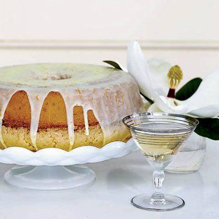 Lemon-and-Orange-Glazed Pound Cake
