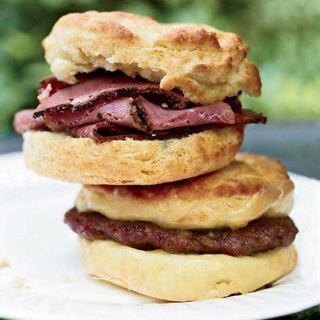 Oversize Breakfast Biscuits
