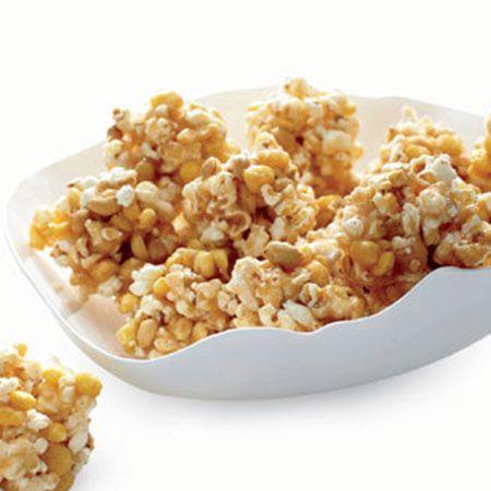 Spicy Popcorn Balls