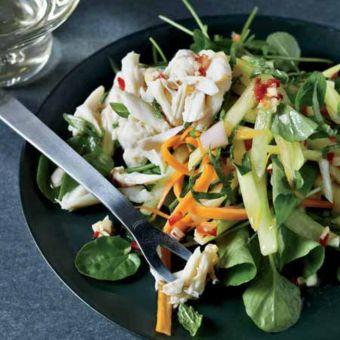 Thai Crab-and-Green-Mango Salad