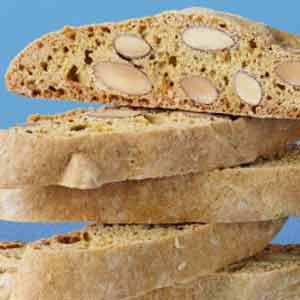 Reduced Fat Almond Biscotti