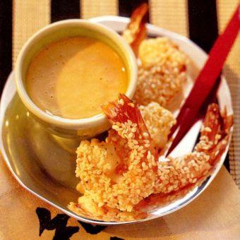 Open Sesame Shrimp