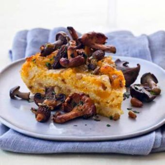 Baked Butternut Squash–and–Cheese Polenta