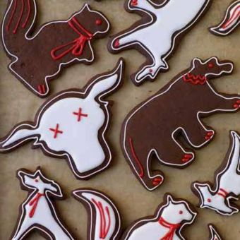 Chocolate-Gingerbread Cookies