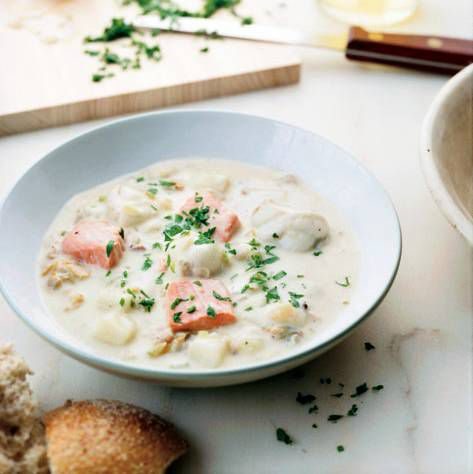 Fish-and-Shellfish Chowder