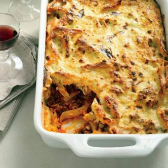 Greek Baked Pasta