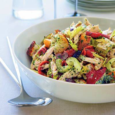 Green Goddess Chicken Salad