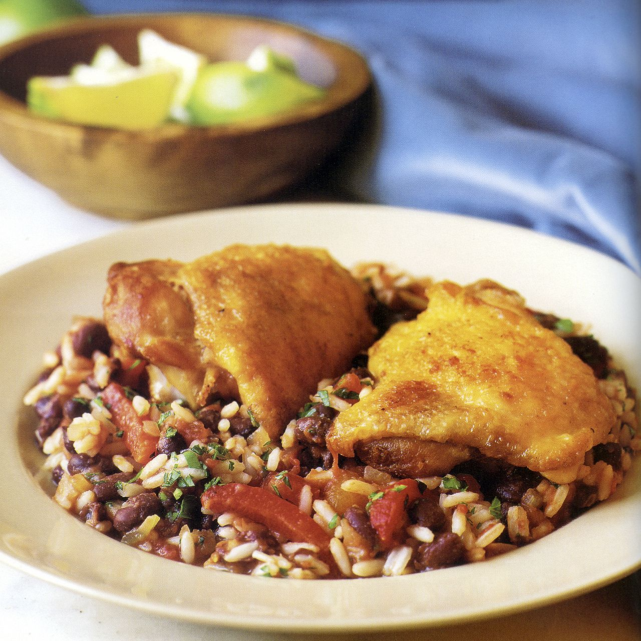 Chicken with Rice and Beans