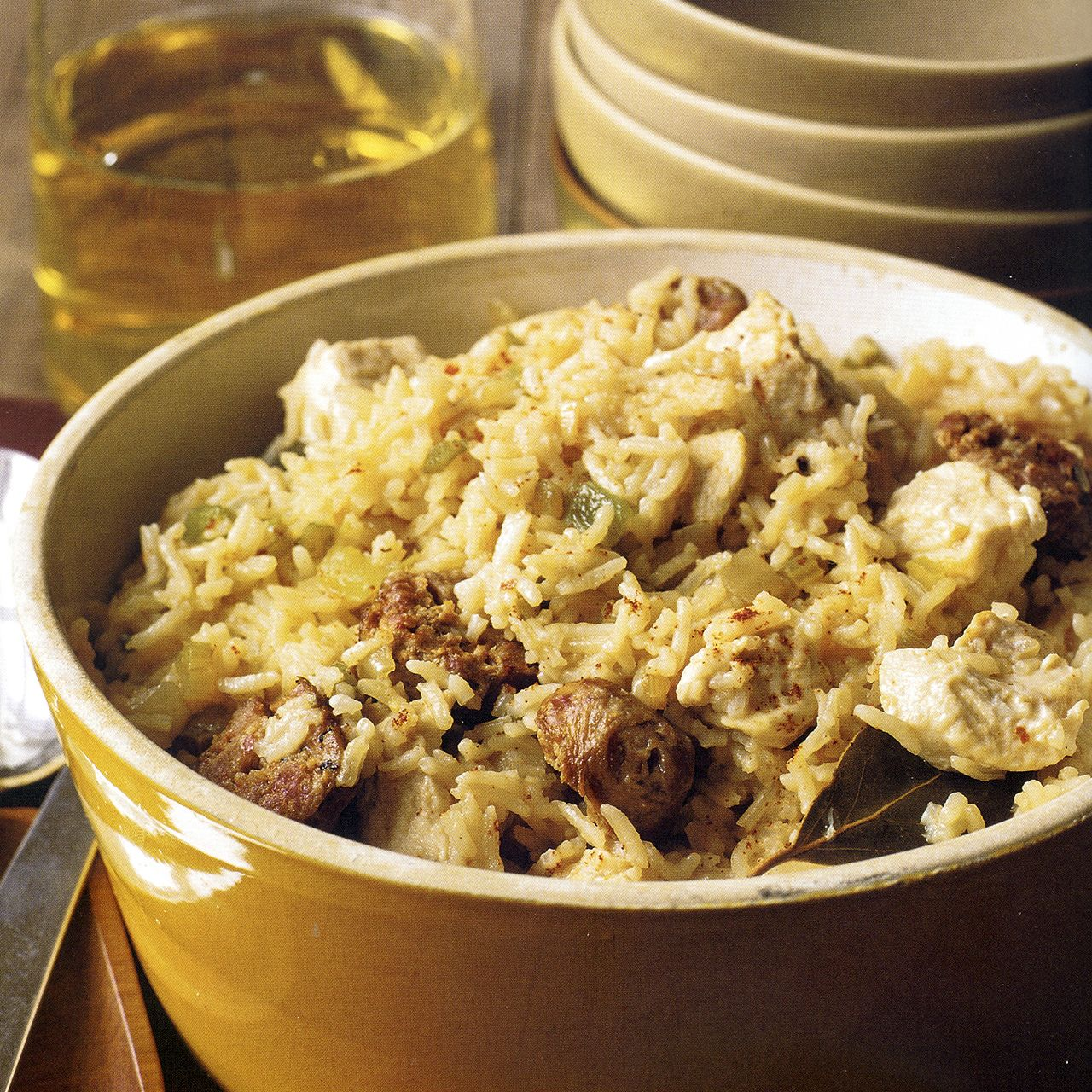 Chicken and Sausage Jambalaya Recipe : Cooking.com Recipes
