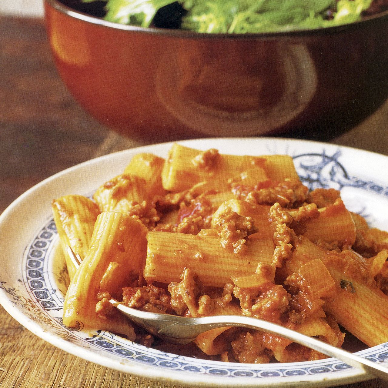 Rigatoni with Sausage and Tomato Cream Sauce