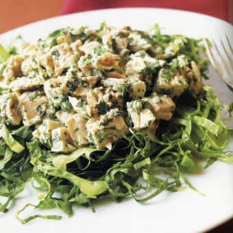 Chicken Salad with Cumin and Parsley
