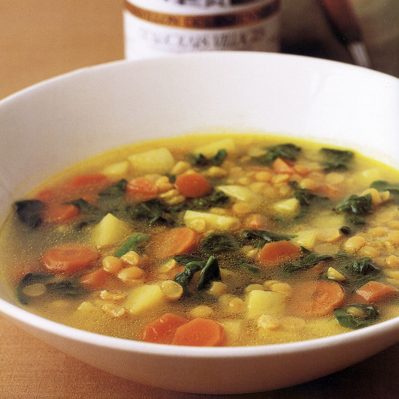 Indian Split-Pea and Vegetable Soup