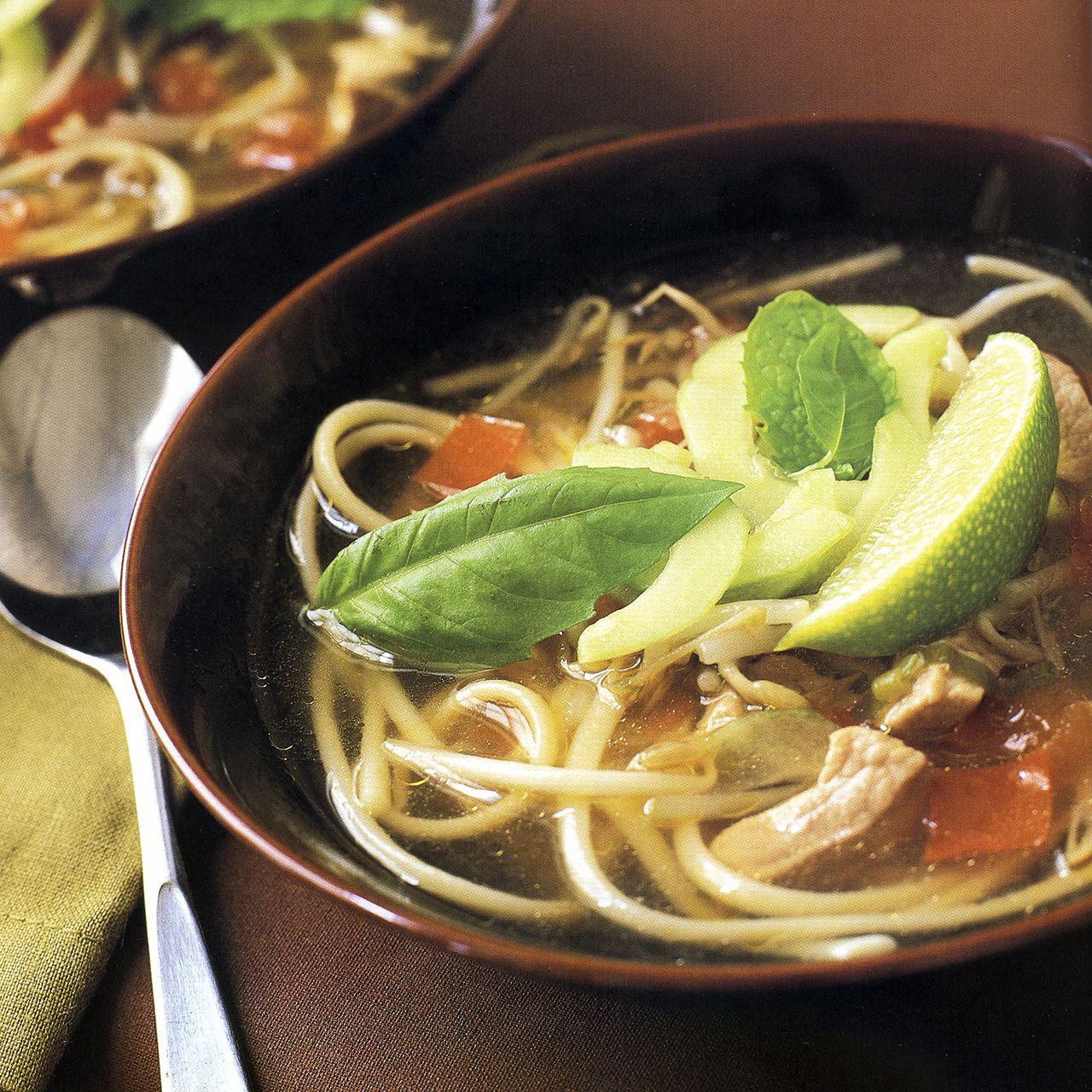 Vietnamese Pork-and-Noodle Soup